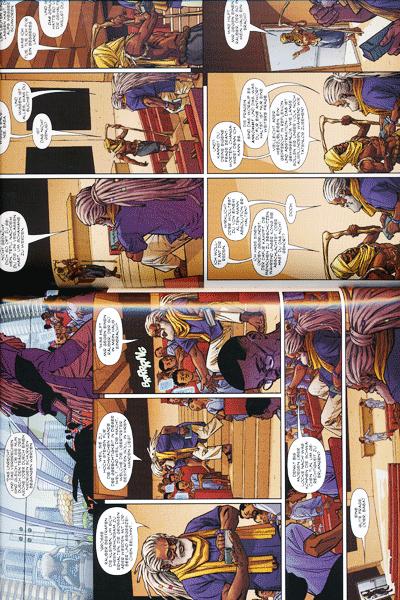 Erste Leseprobe von Black Panther, Band 1 - Ein Volk unter dem Joch