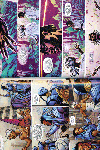 Zweite Leseprobe von Black Panther, Band 1 - Ein Volk unter dem Joch