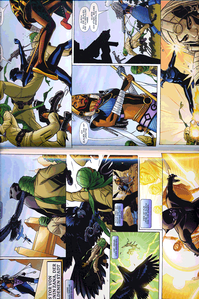 Erste Leseprobe von Black Panther, Band 3 - Zeiten des Aufruhrs