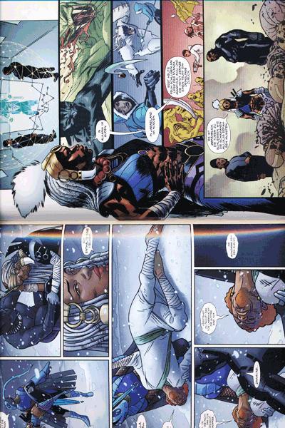 Leseprobe 2 von Black Panther, Band 4 - Schurken und Götter