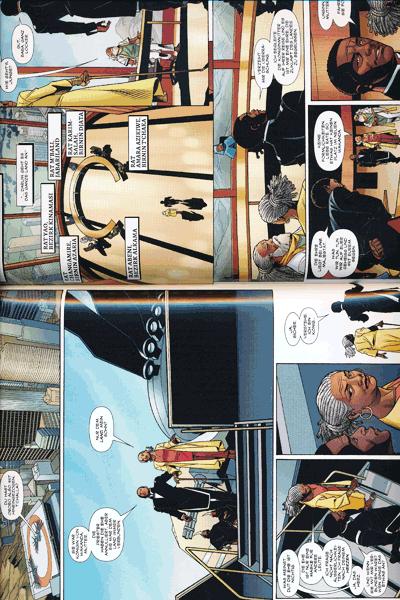 Leseprobe 3 von Black Panther, Band 4 - Schurken und Götter
