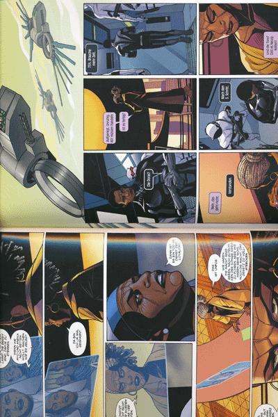 Leseprobe 1 von Black Panther, Band 5 - G�tterd�mmerung �ber Wakanda