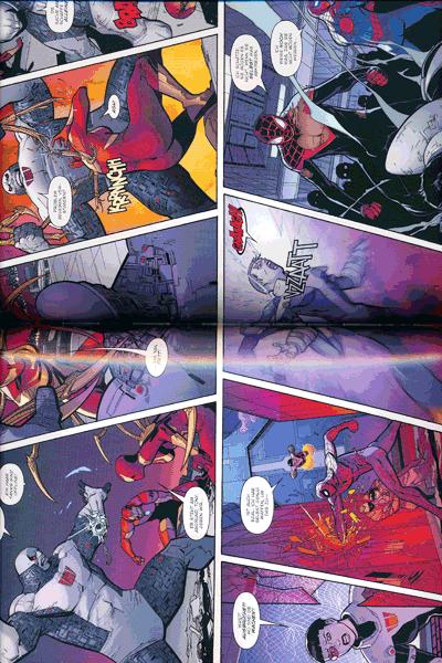 Erste Leseprobe von SPIDER-MAN PAPERBACK lim. Hardcover, Band 3 - T�dliche Geschehnisse