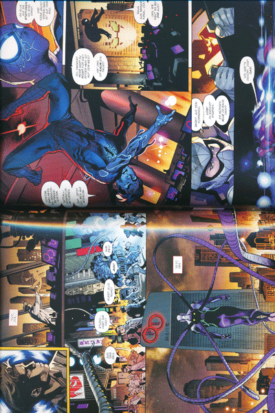 Leseprobe 1 von SPIDER-MAN PAPERBACK lim. Hardcover, Band 6 - Tödliche Tentakel