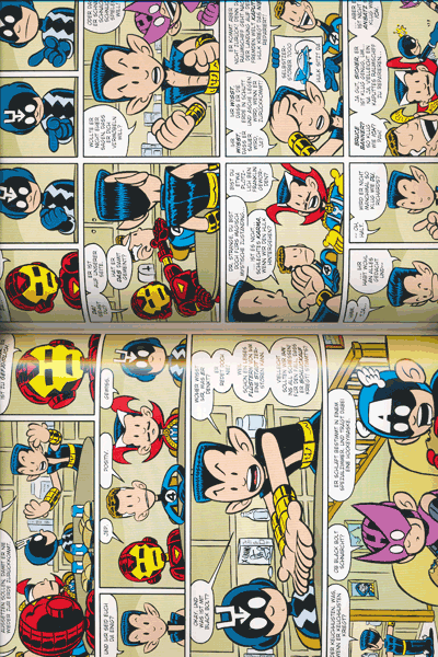 Leseprobe 2 von MINI MARVELS lim. Hardcover, Einzelband - Die grosse Sammlung kleiner Helden