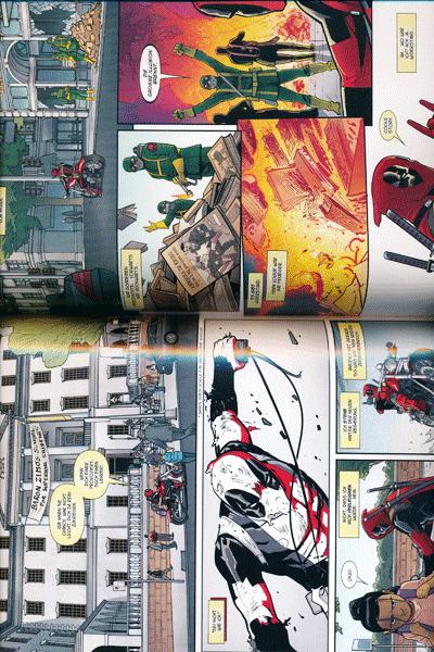 Leseprobe 2 von DEADPOOL PAPERBACK lim. Hardcover, Band 6 - Frag doch die Skrulls
