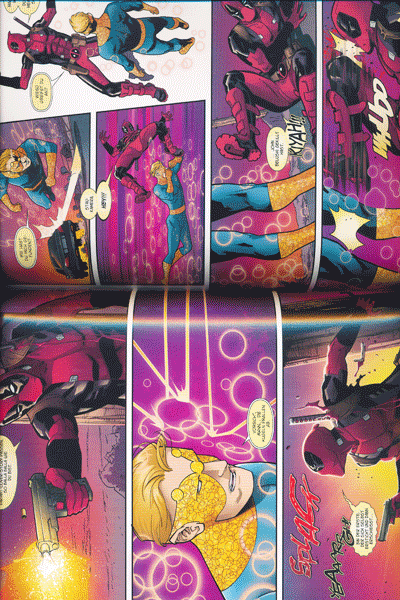 Leseprobe 4 von DEADPOOL PAPERBACK lim. Hardcover, Band 6 - Frag doch die Skrulls
