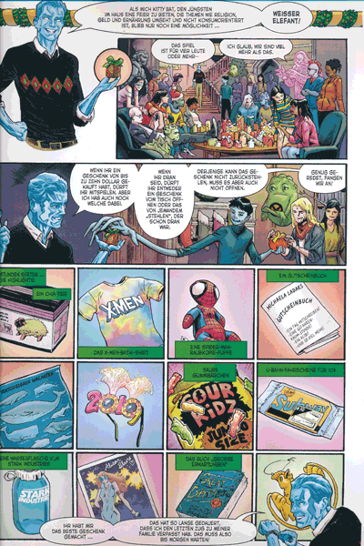 Leseprobe 2 von Adventsgeschichten mit den X-Men, Einzelband - 1. - 24. Dezember