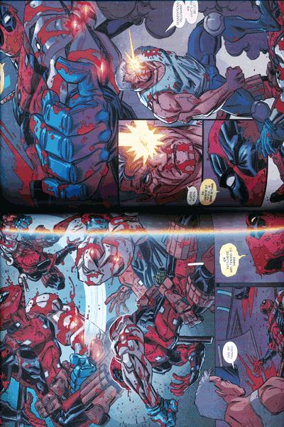Leseprobe 1 von Marvel Legacy: Deadpool [comicroman] [hinterhältig], Band 1 - Deadpool killt Cable