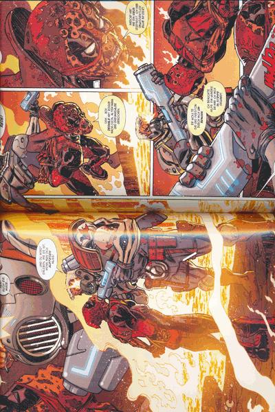 Leseprobe 2 von Marvel Legacy: Deadpool [comicroman] [hinterhältig], Band 1 - Deadpool killt Cable
