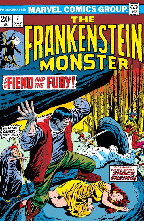 Leseprobe 1 von Frankensteins Monster [comic] [classic collection], Einzelband - Die Rache des Monsters