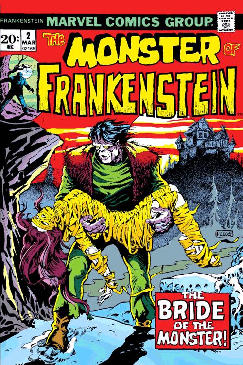 Leseprobe 4 von Frankensteins Monster [comic] [classic collection], Einzelband - Die Rache des Monsters