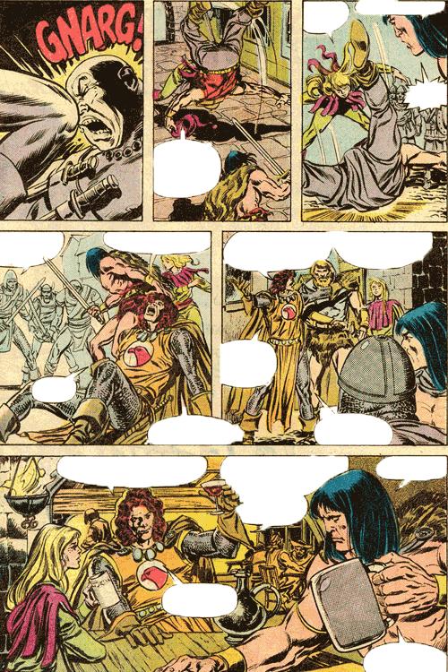 Leseprobe von Conan der Barbar - Classic Collection, Band 3 - Phantastische Comic-Abenteuer