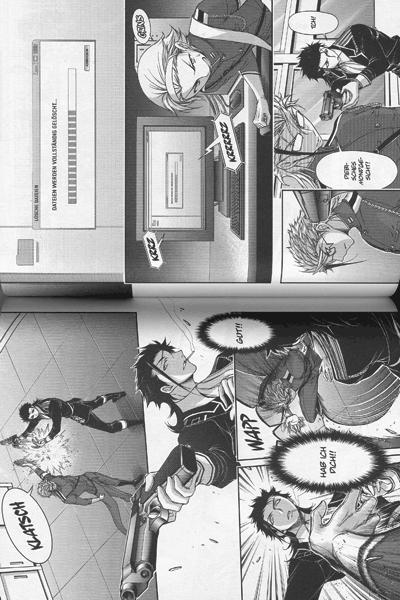 Leseprobe 1 von Plunderer: Die Sternenjäger [manga], Band 6 - Liebesbrief