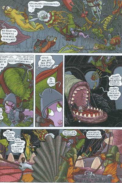Erste Leseprobe von Donjon Monster, Band 2 - Die Armeen der Tiefe