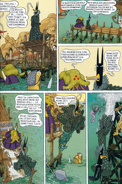 Zweite Leseprobe von Donjon Monster, Band 2 - Die Armeen der Tiefe