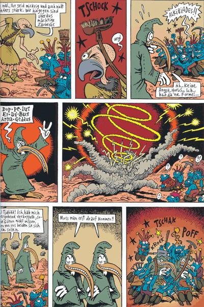 Leseprobe 2 von Donjon Monster, Band 12 - Das Auge des Riesen