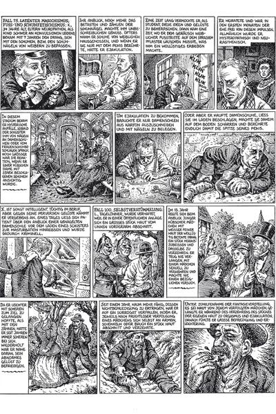 Leseprobe 1 von Robert Crumb 1 - NAUSEA, Einzelband -