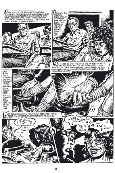 Leseprobe 2 von Robert Crumb 2 - MEIN �RGER MIT DEN FRAUEN, Einzelband -