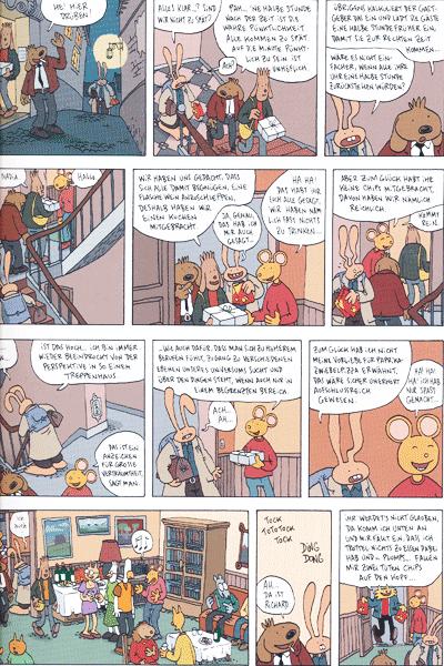 Leseprobe 1 von Die erstaunlichen Abenteuer von Herrn Hase, Band 5 - Liebe und sonstige Kleinigkeiten