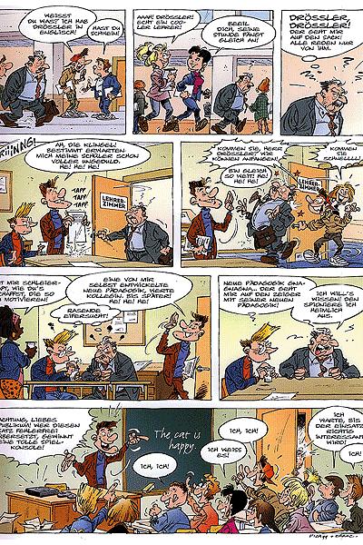 Leseprobe von Die Pauker, Band 1 - Hefte raus! Klassenarbeit!