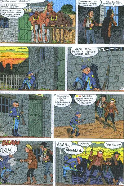 Leseprobe von Die Blauen Boys, Band 18 - Quantrills Bande