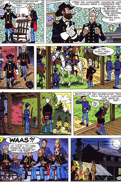 Leseprobe von Die Blauen Boys, Band 22 - Strohm�nner