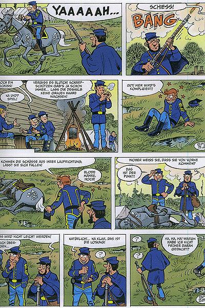 Die Blauen Boys, Band 31 - Arabeske