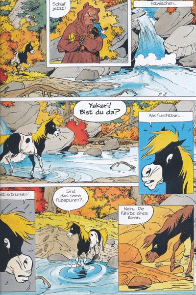 Leseprobe 1 von YAKARI, Band 15 - Der Fluss des Vergessens