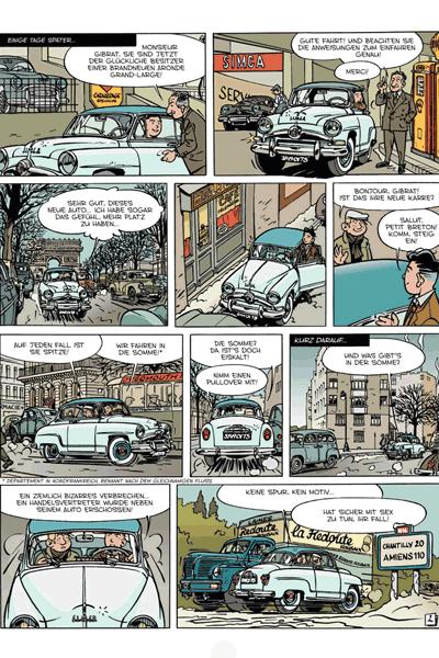 Leseprobe 1 von Die Abenteuer von Jacques Gibrat, Band 4 - Die Gattin des Notars