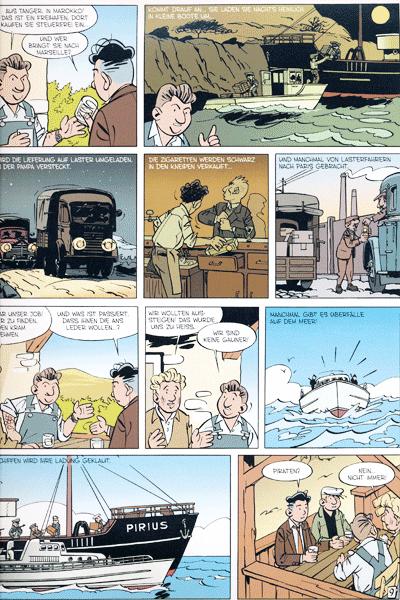 Erste Leseprobe von Die Abenteuer von Jacques Gibrat, Band 5 - Schmuggel auf dem Mittelmeer
