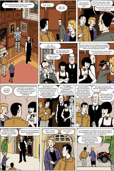 Leseprobe 1 von Die Abenteuer von JULIUS CHANCER, Band 1 - Die Regenbogenorchidee I - Die Wette