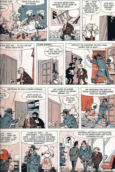 Leseprobe 1 von HARRY UND PLATTE Gesamtausgabe   Chronologisch, Band 3 - 1960 - 1961