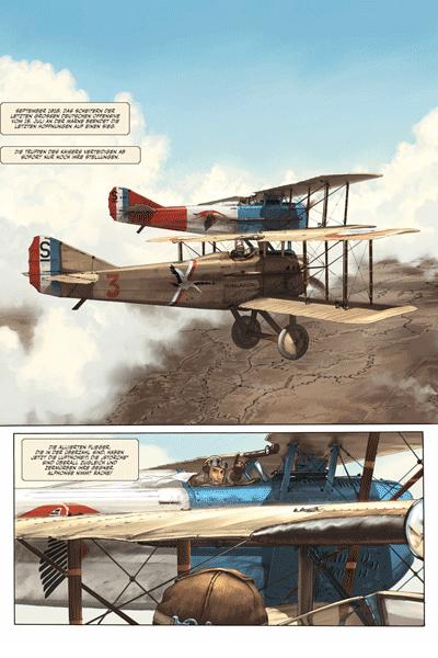 Leseprobe 1 von Der Pilot mit dem Edelweiß, Band 3 - Walburga
