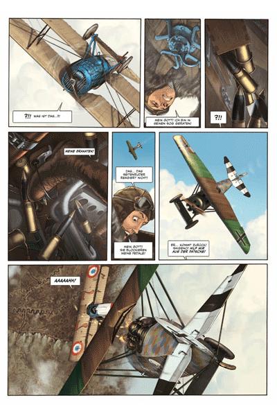 Leseprobe 2 von Der Pilot mit dem Edelweiß, Band 3 - Walburga