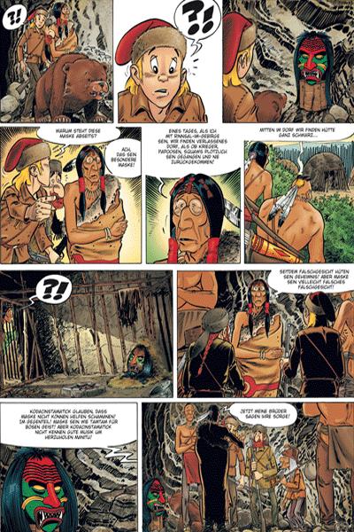 Leseprobe 1 von Mathias erz�hlt, Band 2 - Die Irokesenmaske