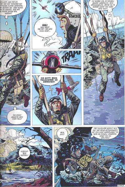 Leseprobe 1 von Die neuen Abenteuer von Buck Danny, Band 2 - Duell auf der MiG-Alley
