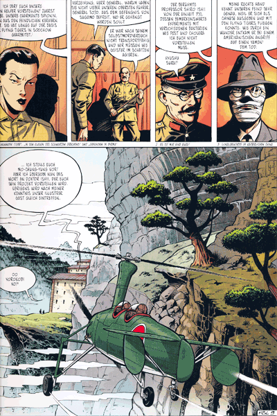 Leseprobe 2 von Die neuen Abenteuer von Buck Danny, Band 3 - Die Geister der aufgehenden Sonne