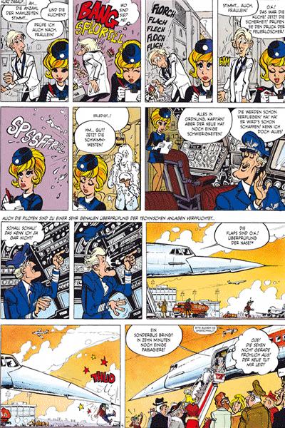 Erste Leseprobe von NATASCHA Gesamtausgabe, Band 1 - Panik an Bord