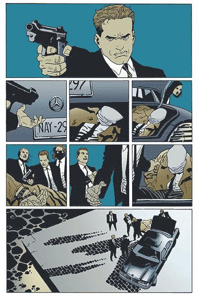 Leseprobe von 100 Bullets, Band 8 - Der unsichtbare Detektiv