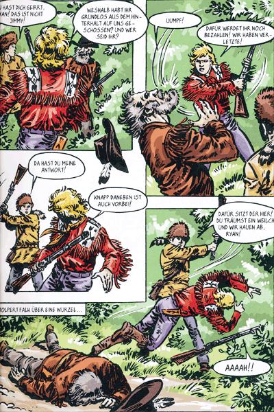 Leseprobe 1 von SILBERPFEIL - Der junge Häuptling, Sonderband 2 - Häuptling Goldhaar und andere Geschichten