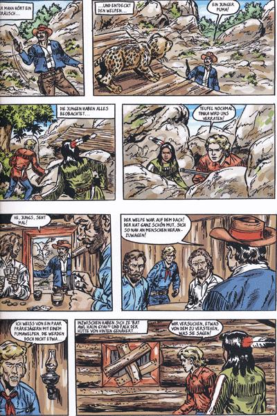 Leseprobe von Silberpfeil - Der junge Häuptling, Band 32 - Der Schlüssel
