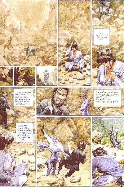 Leseprobe von Die Abenteuer von He-Pao, Band 5 - Das Kloster des kostbaren Spiegels