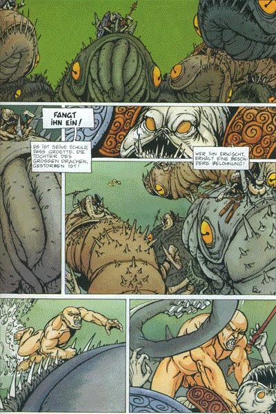 Leseprobe von Cairn - Im Spiegel des Wassers, Band 2 - Der Weg des Kriegers