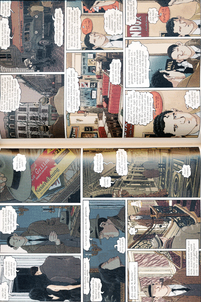 Leseprobe 1 von NESTOR BURMA, Band 2 - Bilder bluten nicht