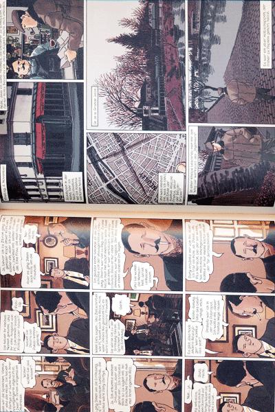 Leseprobe 1 von NESTOR BURMA, Band 3 - Wer einmal auf dem Friedhof liegt