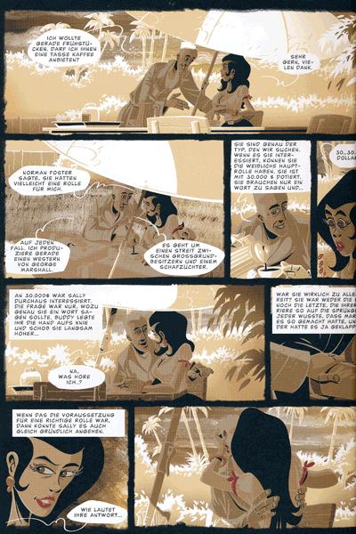 Leseprobe 1 von Das Herz des Zorro, Einzelband -