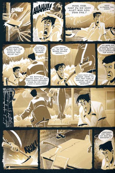 Leseprobe 3 von Das Herz des Zorro, Einzelband -