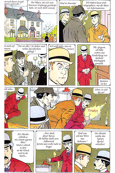 Leseprobe von Sherlock Holmes, Einzelband - Studie in Scharlachrot