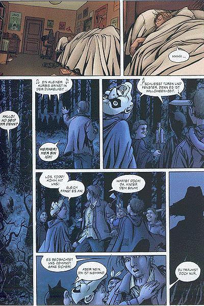Leseprobe von Creeper Creek, Band 3 - Grausame Enthüllungen